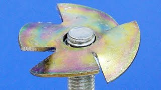 DIY Make A Water Pump ///Angle Grinder HACK ///