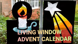 Living Window Advent Calendar - Tutorial