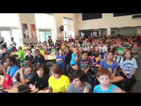 6th Grade #PeaceDayChallenge at Alice Deal Middle School