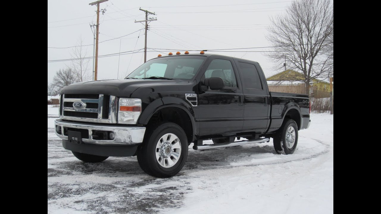 2001 Ford F350 Diesel 2008 Ford F-250 Lariet V10 4x4 SOLD!!! - YouTube