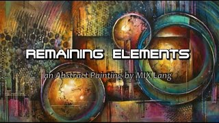 Painting Abstract Design, Random Applications, Techniques