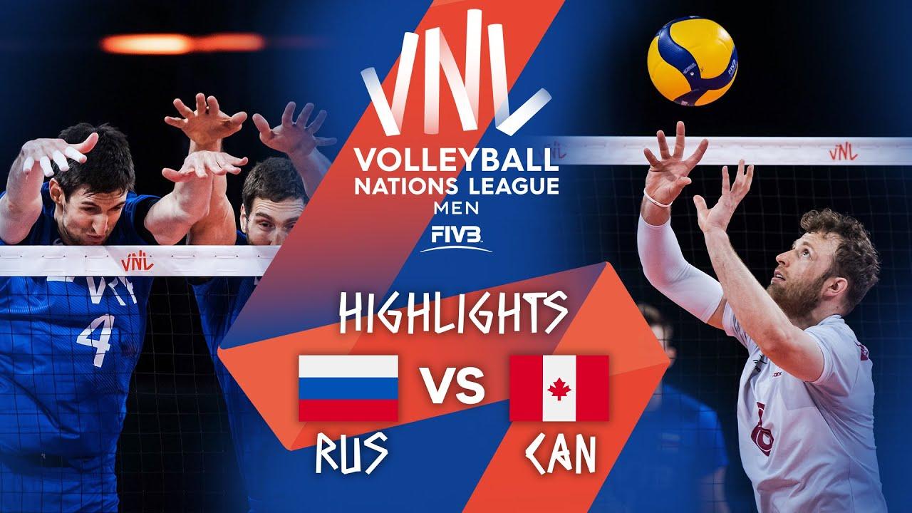 Download RUS vs. CAN - Highlights Week 3 | Men's VNL 2021