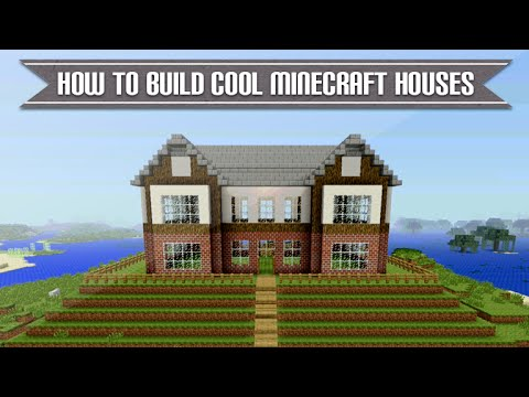 minecraft xbox & playstation - how to build a cool minecraft house