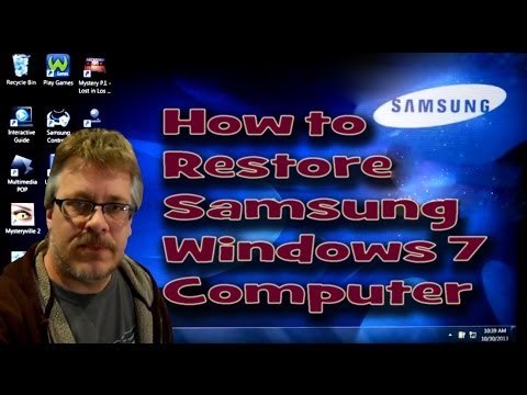 How To Quickly Restore Samsung Windows Computer