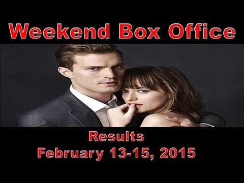 Weekend box office results february 13 15 2015 youtube - Movie box office results this weekend ...