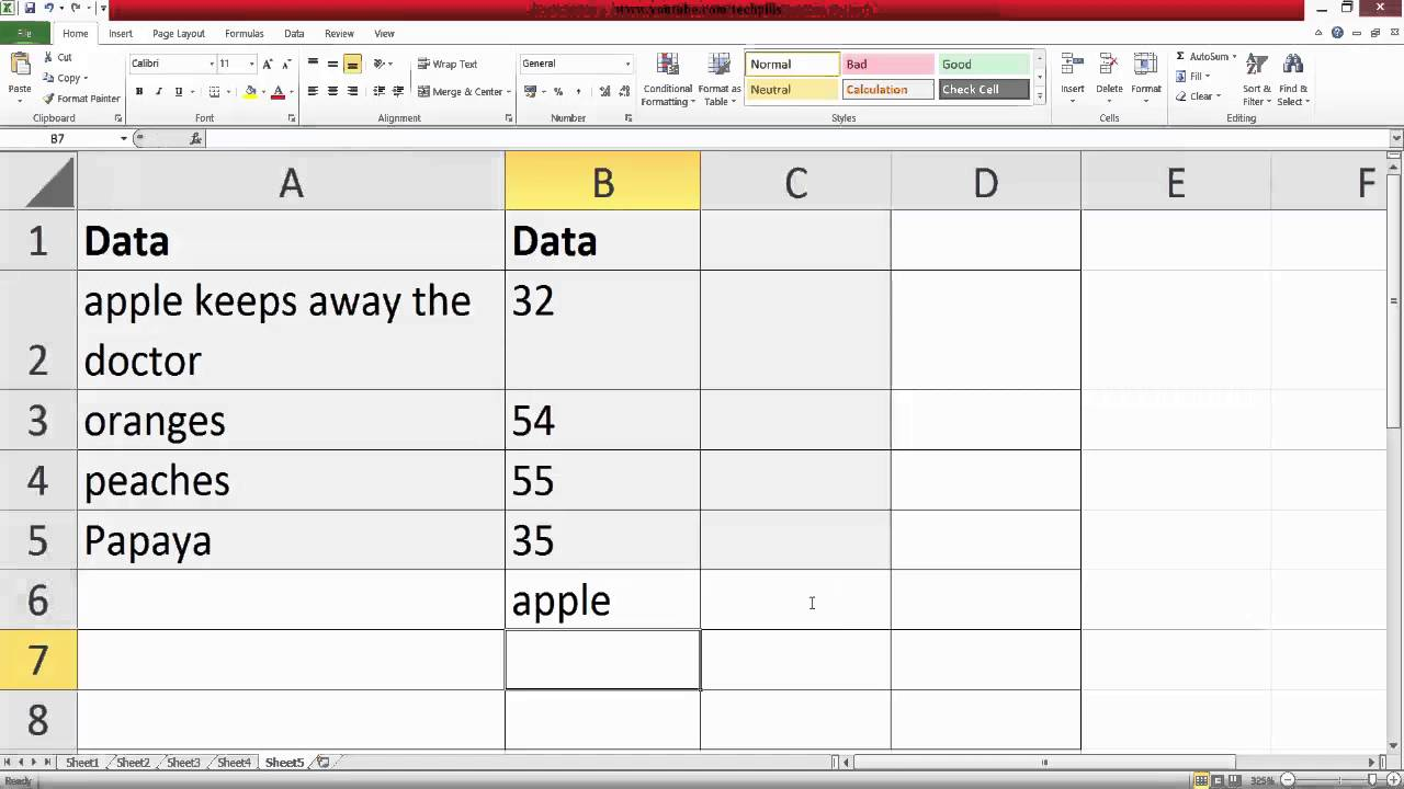 Excel Formulas and Functions  How to EXTRACT the first word from the  sentence