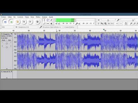 Como cortar ou juntar músicas com o Audacity