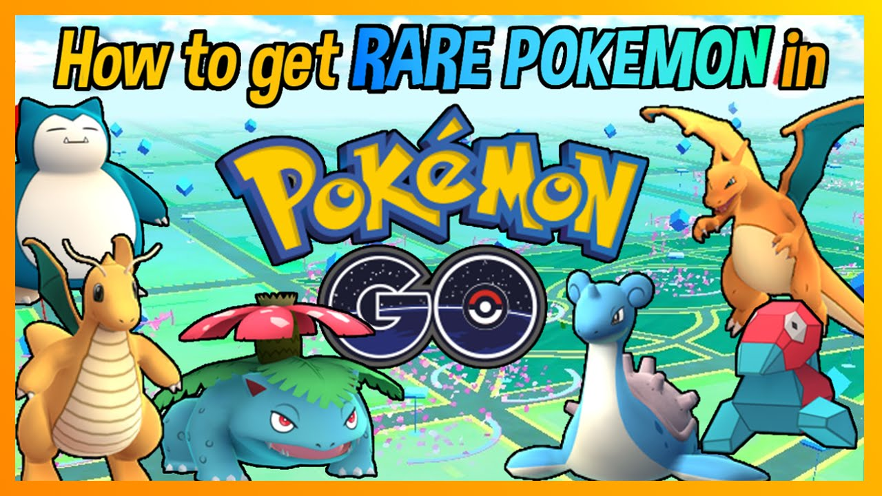 how to get rare pokemon