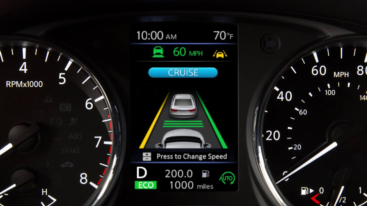 What Is Lane Departure Warning >> 2018 Nissan Rogue Lane Departure Warning And Intelligent Lane Intervention Systems Ise