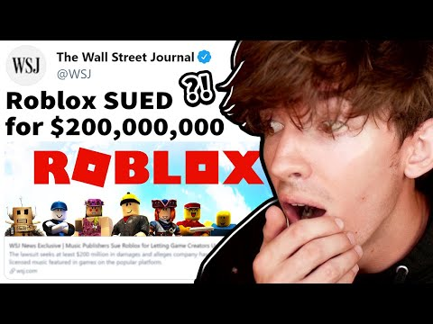 Roblox is getting sued again... for a lot.