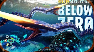 THE ICE WORM!! - Subnautica Below Zero - New Footage & Leviath…