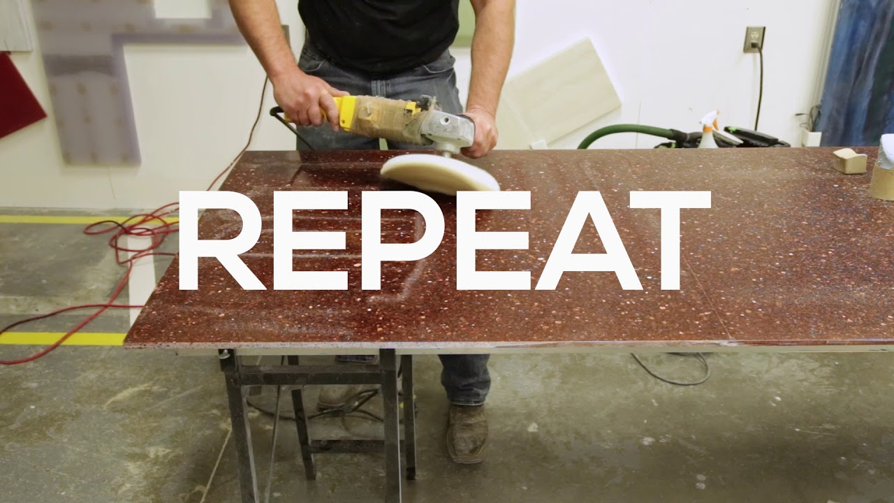 Ordinaire Avonite Surfaces® And STUDIO Collection® Fabrication Video   How To Obtain  A Polished Finish