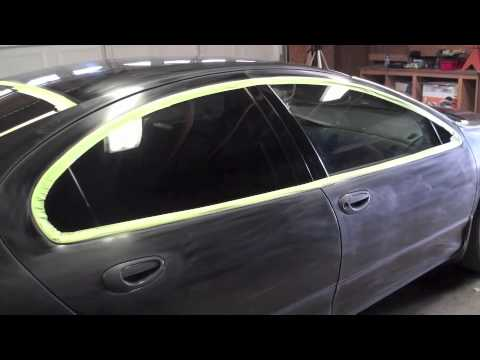 How to paint your own car in the garage Full Color Change part 4 ...