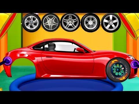 Cars Factory : Build Cars - Driving for Kids - Kids Garage Repair Shop | Best iOS Game App for Kids