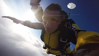 Mój pierwszy skok spadochronowy!