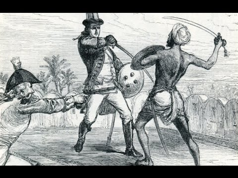 Were Indian martial arts banned under British rule?