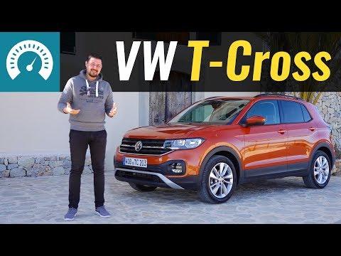 VW T-Cross, КТО ТЫ? Тест-драйв Т-Кросс 2019