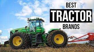 Top 5 Best Tractor Brands of 2017