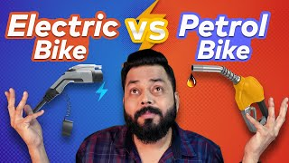 Electric Bike vs Petrol Bike | Which One To Buy? Full Comparison ⚡ Range, Price, Running Cost & More