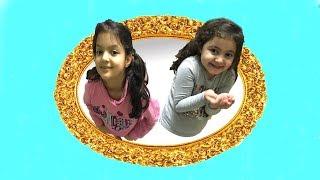 MASAL KARDEŞİYLE SİHİRLİ AYNADAN PARKA GİTTİ -Magic Mirror to  Playground