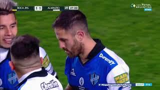 El Burrito Martínez aplicó la ley del ex y empató el partido ante Boca
