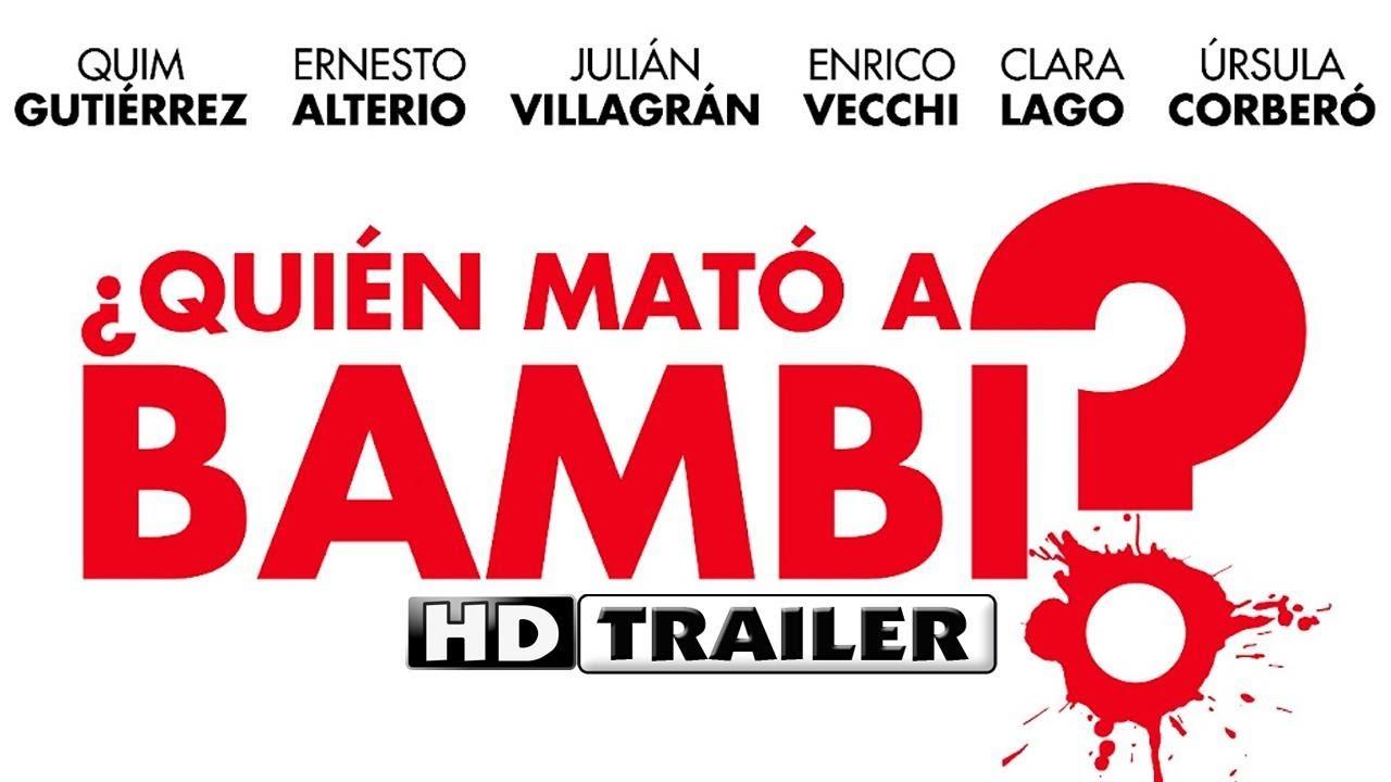 ¿ Quién mató a Bambi ? Trailer 2013 en español