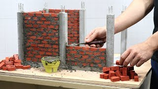 BRICKLAYING - BUILD MINI OFFICE - LEARN BRICKLAYING