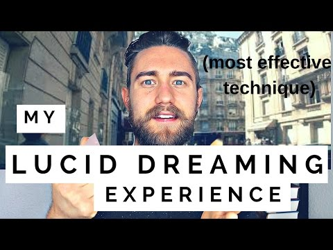 My Lucid Dreaming Experience (Most Effective Technique to Lu