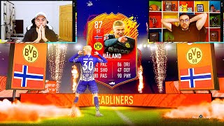 GUESS WHO TO SAVE THIS INCREDIBLE 100K PACK!!! Fifa 20 Discard Challenge