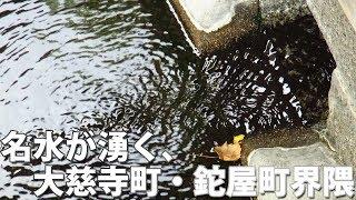 解説/大慈寺町・鉈屋町界隈には、名水が湧き綺麗な水があります。 湧き...