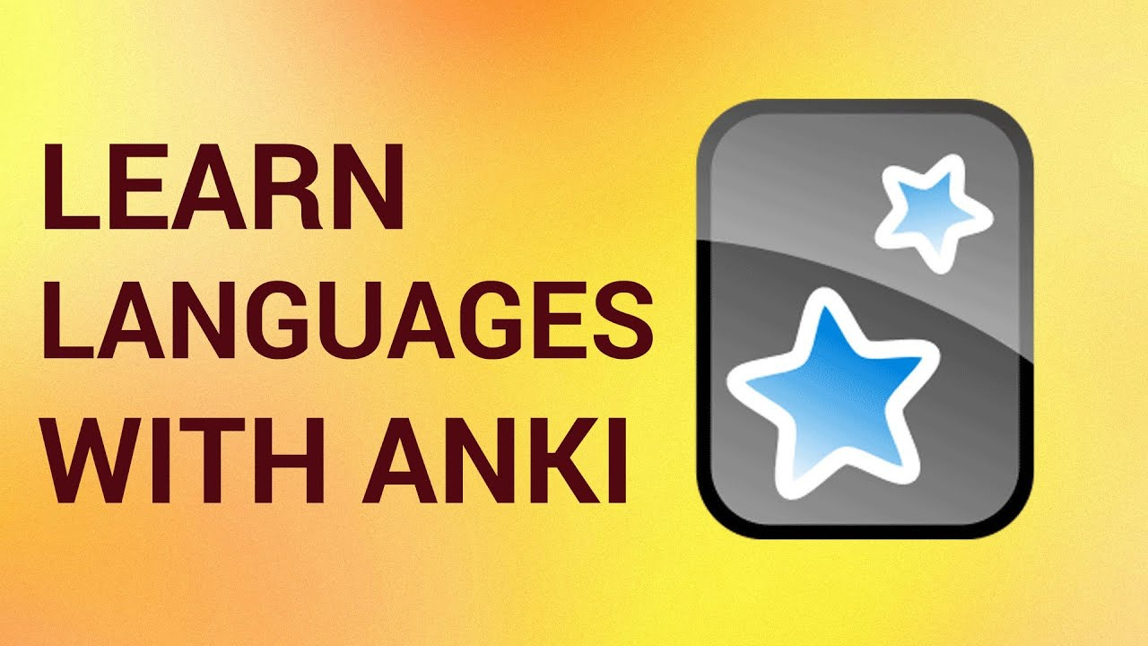 How to Learn Any Language with Anki Flashcards