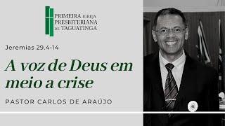 A voz de Deus em meio a Crise