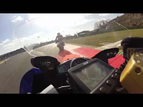 Onboard Vallelunga Moto Autodromo Vallelunga R6 Stock Marzo