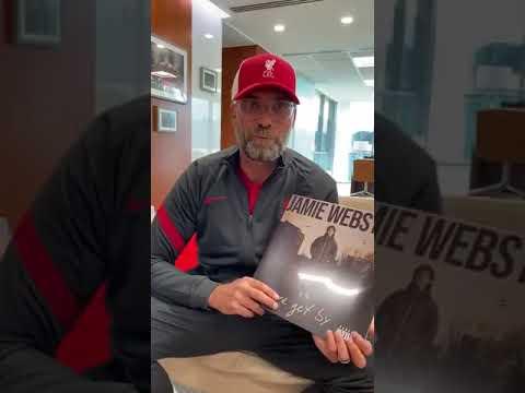 Jurgen Klopp promotes Jamie Webster - We Get By