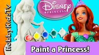 Disney Princess Paint Ariel Rapunzel HobbySis Blind Box Funko by HobbyKidsTV