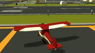 Pako car chase simulator airplane at the airport