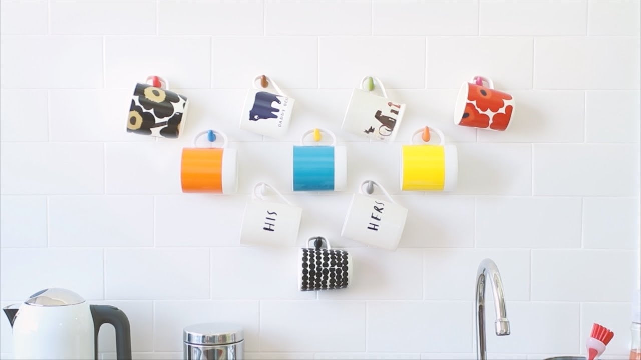 kitchen hooks best sink make diy with sugru youtube
