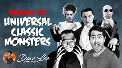 UNIVERSAL CLASSIC MONSTERS Movies Ranked