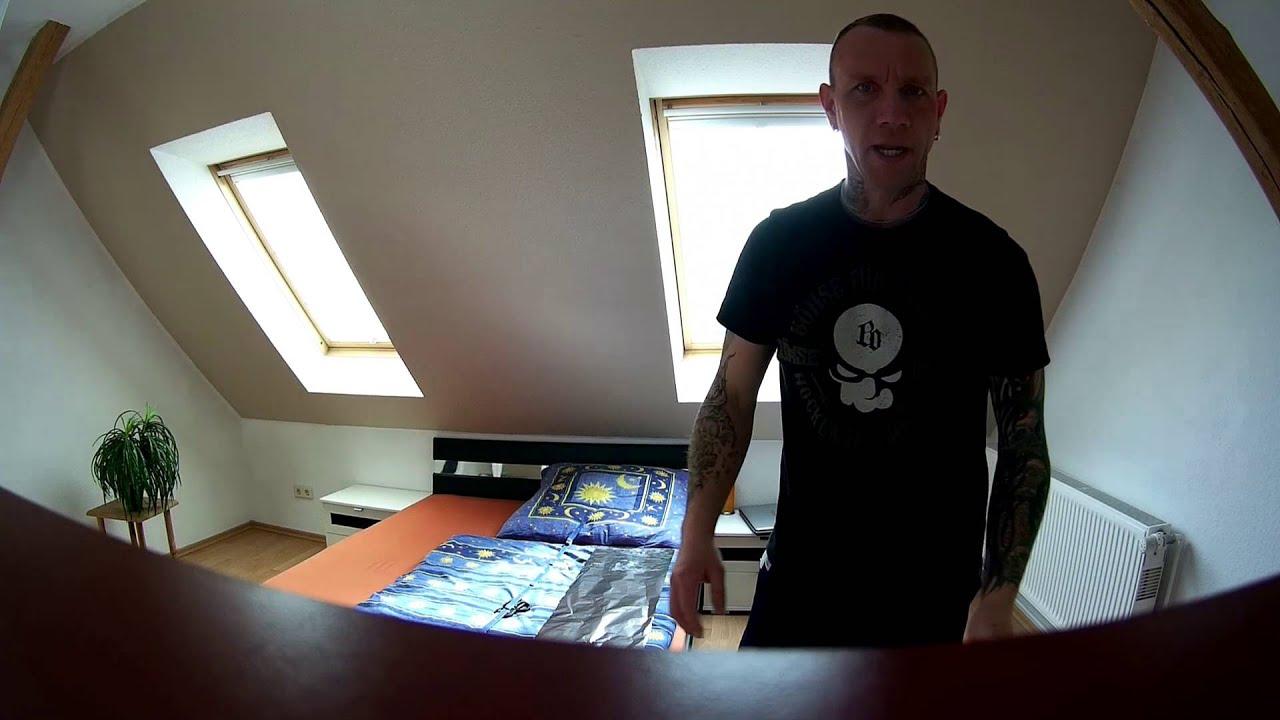 Alufolie Fenster reflektiert mit Andy nicht professionell Hamburg