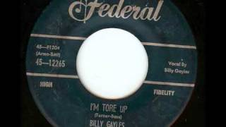Billy Gayles -  I´m Tore Up