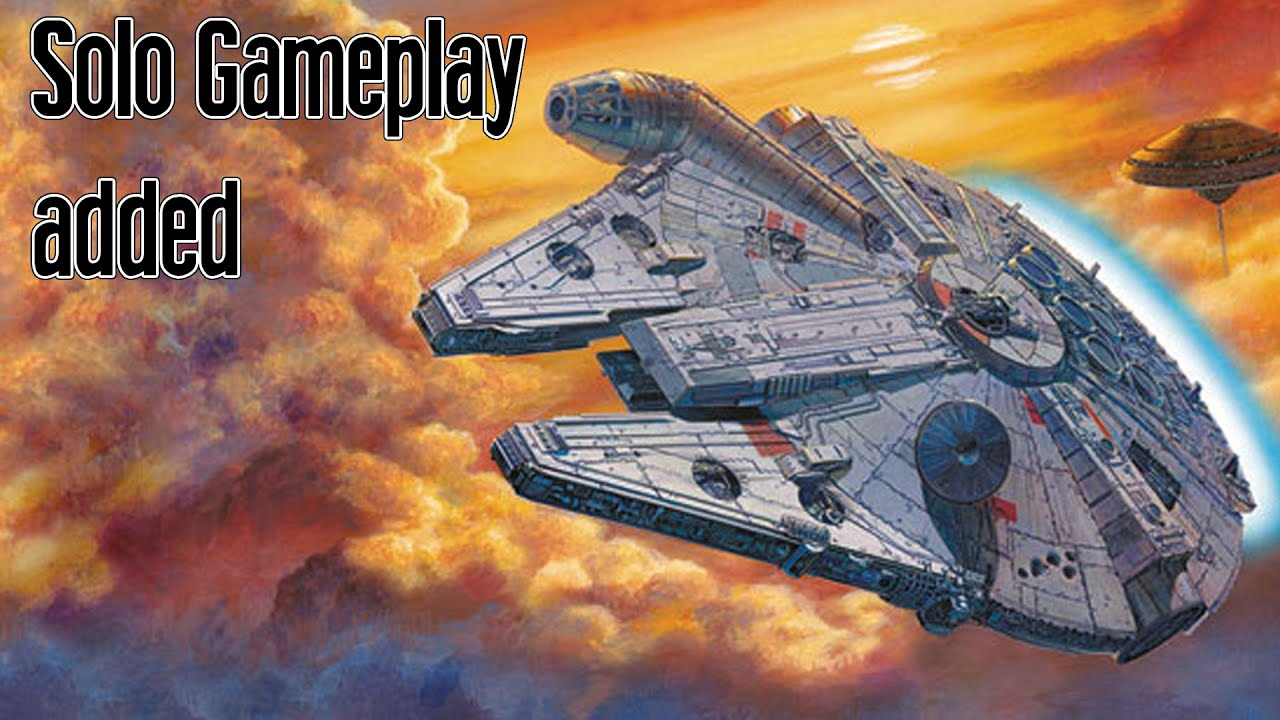 Discussing the new Solo mode for X-wing TMG