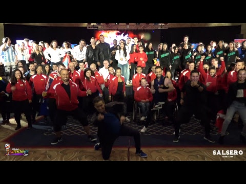 World Latin Dance Cup 2018 Day 1, Opening Ceremony