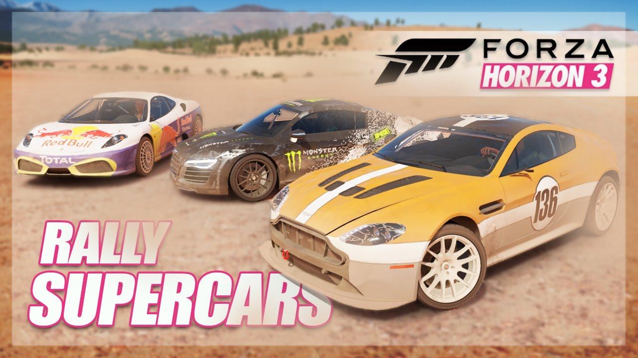 Forza Horizon 3 - Turning Supercars into Rally Cars! (Off-road ...