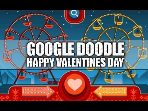 Google Doodle: Valentine's Day 2013 & George Ferris ...