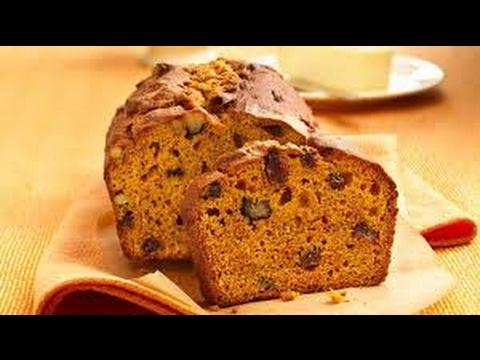 Easy Whole Wheat Low Fat Healthy Pumpkin Bread