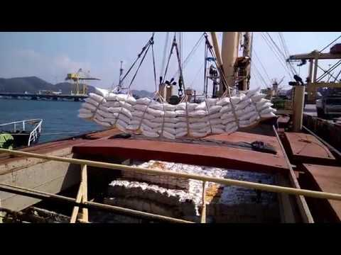 SCMarine - Loading at laem chabang port by delivery thai sug