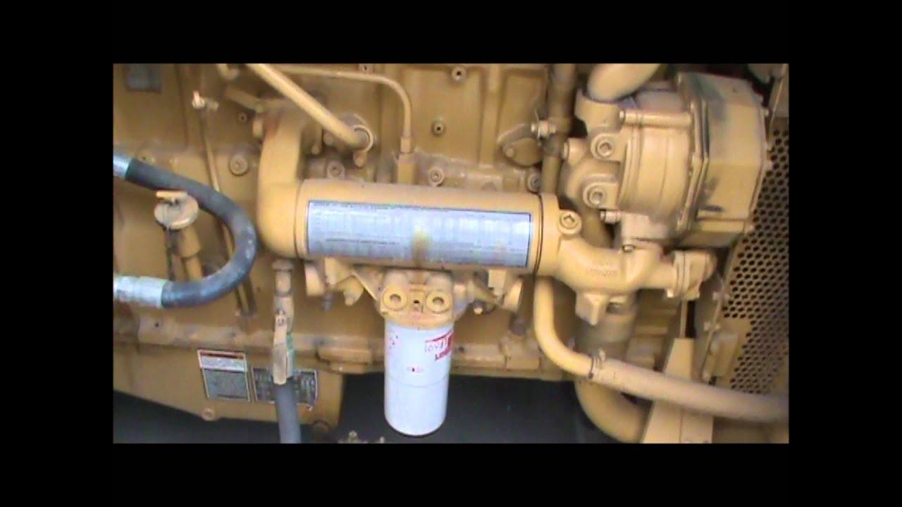 medium resolution of caterpillar 3406 400kw 208v enclosed w fuel tank diesel generator set