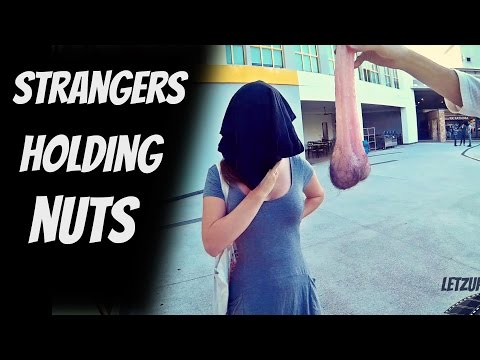 Blindfold nuts prank - (Testicles) #Deeznuts