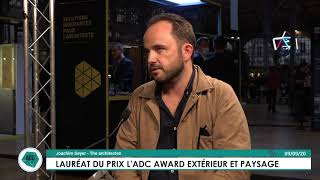 Lauréats des ADC AWARDS 2020 : interview de Joachim Seyer (THE Architectes)