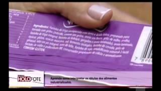 Como ler o rótulo dos produtos? - TV Mais Ribeirão - Cristina Trovó